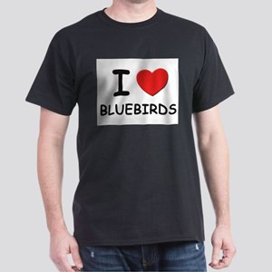 I love bluebirds Ash Grey T-Shirt