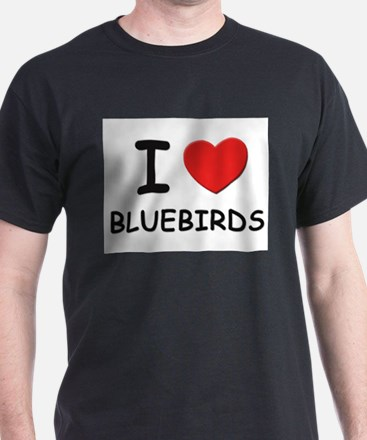 I love bluebirds Ash Grey T-Shirt