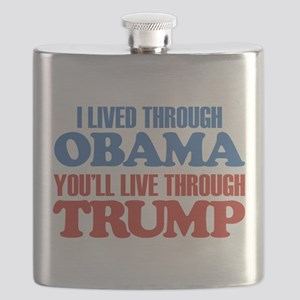 You'll Live Through Trump Flask