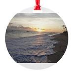 Punta Cana Sunrise Round Ornament