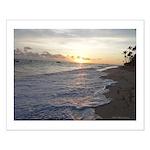 Punta Cana Sunrise Small Poster