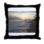 Punta Cana Sunrise Throw Pillow