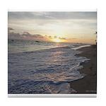 Punta Cana Sunrise Tile Coaster