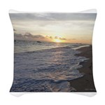 Punta Cana Sunrise Woven Throw Pillow