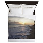 Punta Cana Sunrise Queen Duvet
