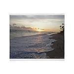 Punta Cana Sunrise Throw Blanket
