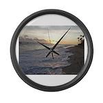 Punta Cana Sunrise Large Wall Clock