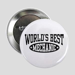 """World's Best Mechanic 2.25"""" Button"""