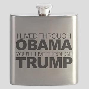 You'll Live Through Trump Flask