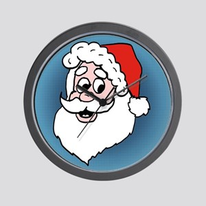Cartoon Santa Claus Wall Clock