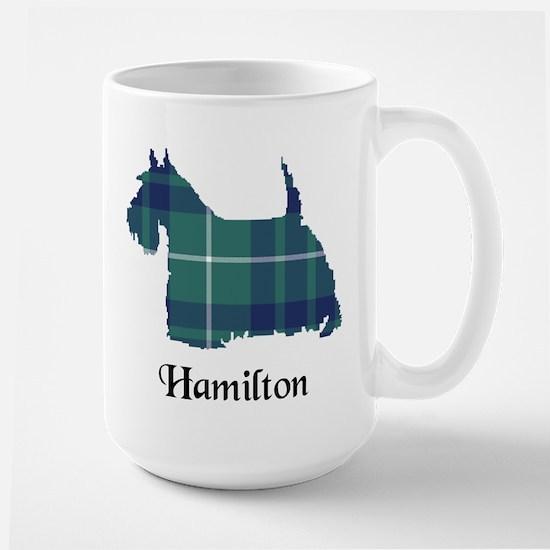 Terrier-Hamilton hunting Large Mug