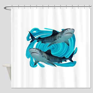 TIGERS Shower Curtain