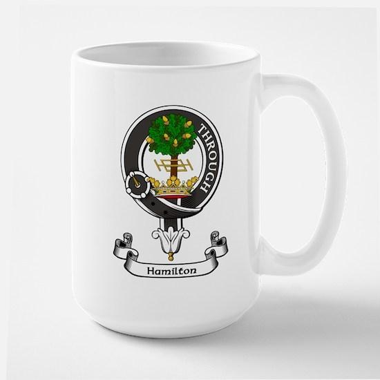 Badge - Hamilton Large Mug