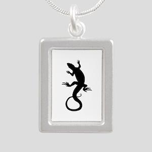 Lizard Art Necklaces