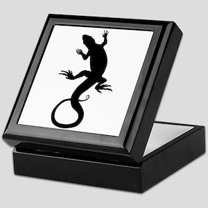 Lizard Art Keepsake Box