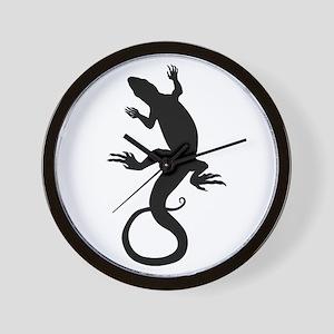 Lizard Art Wall Clock