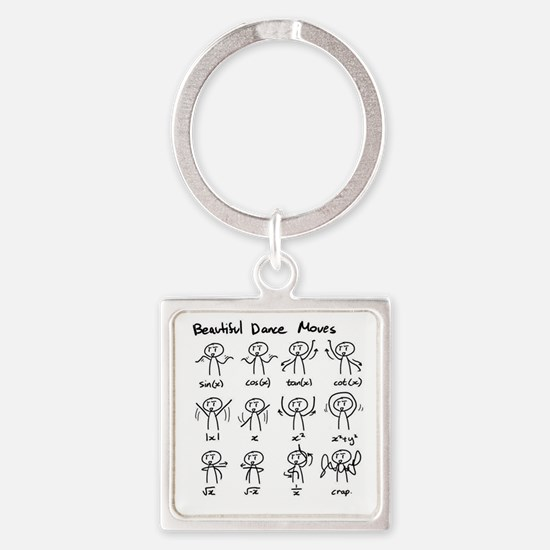 Beautiful (math) dance moves Keychains