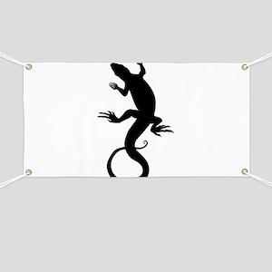 Lizard Art Banner