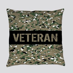 Veteran (Camouflage) Everyday Pillow