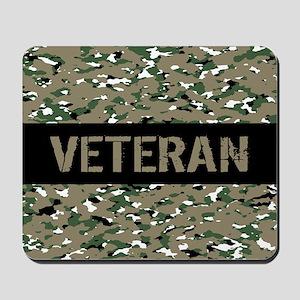 Veteran (Camouflage) Mousepad