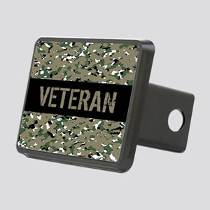 Veteran (Camouflage) Rectangular Hitch Cover