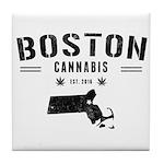 Boston Cannabis Tile Coaster
