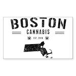 Boston Cannabis Sticker