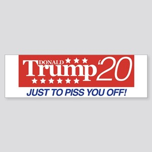Donald Trump '20 Sticker (Bumper)
