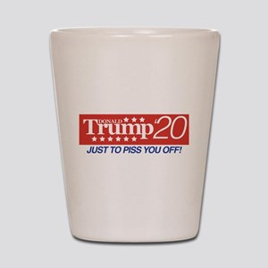 Donald Trump '20 Shot Glass