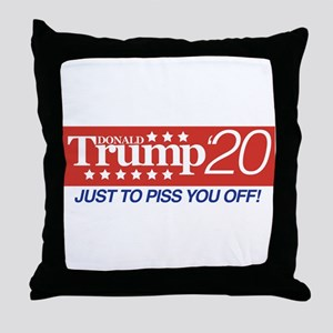 Donald Trump '20 Throw Pillow