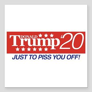 "Donald Trump '20 Square Car Magnet 3"" x 3"""