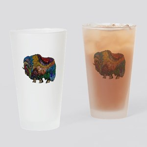 MUSKOX Drinking Glass