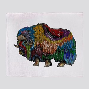 MUSKOX Throw Blanket