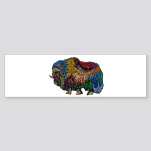 MUSKOX Bumper Sticker