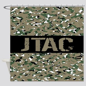 U.S. Air Force: JTAC (Camouflage) Shower Curtain