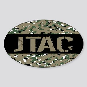 U.S. Air Force: JTAC (Camouflage) Sticker (Oval)