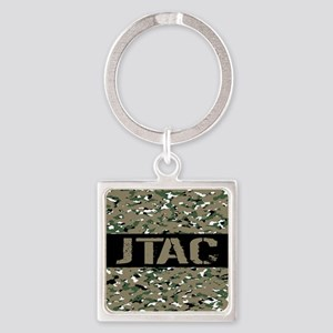 U.S. Air Force: JTAC (Camouflage) Square Keychain