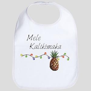 Mele Kalikimaka - Hawaiian Christmas Baby Bib