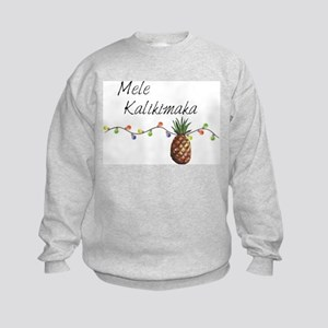 Mele Kalikimaka - Hawaiian Christmas Sweatshirt
