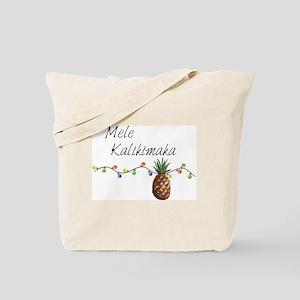 Mele Kalikimaka - Hawaiian Christmas Tote Bag