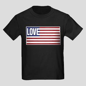 Love America Kids Dark T-Shirt