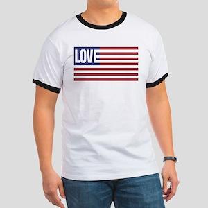 Love America Ringer T