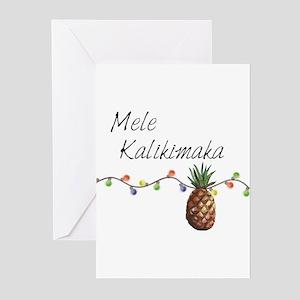 Hawaiian christmas greeting cards cafepress mele kalikimaka hawaiian christma greeting cards m4hsunfo