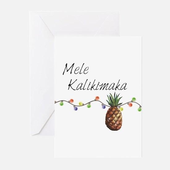 Mele Kalikimaka - Hawaiian Christma Greeting Cards