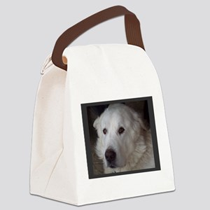 Beautiful Great Pyrenees Canvas Lunch Bag