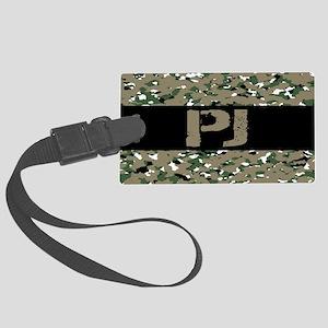U.S. Air Force: PJ (Camouflage) Large Luggage Tag