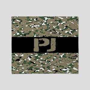 U.S. Air Force: PJ (Camouflage) Throw Blanket