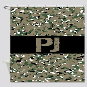 U.S. Air Force: PJ (Camouflage) Shower Curtain