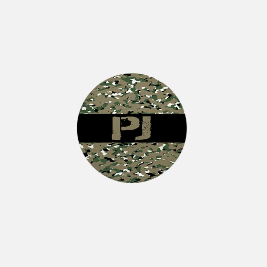 U.S. Air Force: PJ (Camouflage) Mini Button