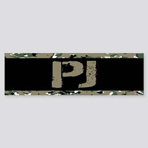 U.S. Air Force: PJ (Camouflage) Sticker (Bumper)